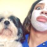 これから愛犬の顔真似をします。 #シーズー